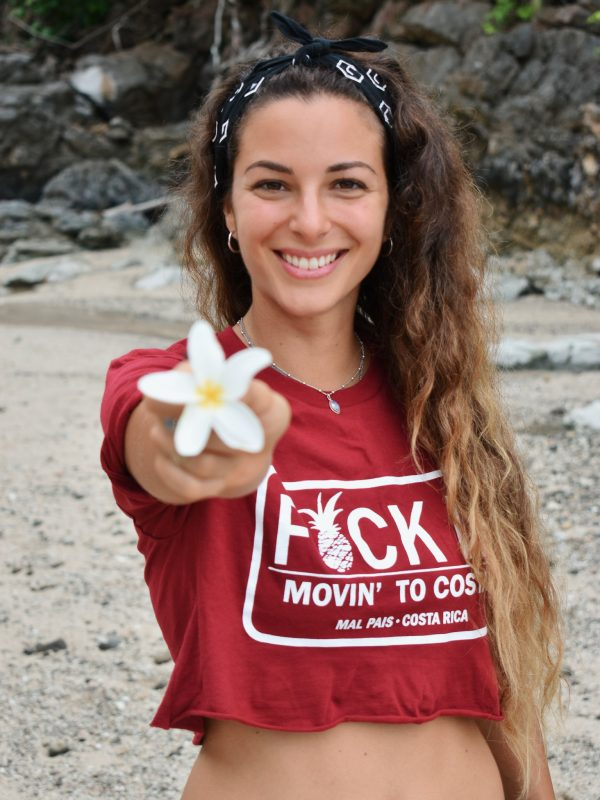 Movin' to Costa Crop Tee